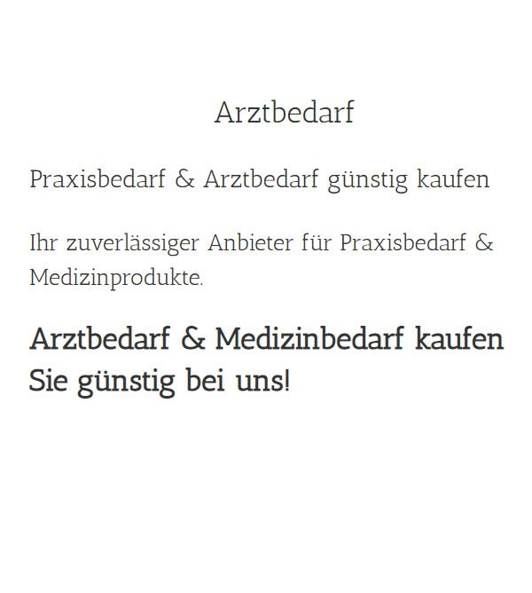 Medizinprodukte in  Friesoythe