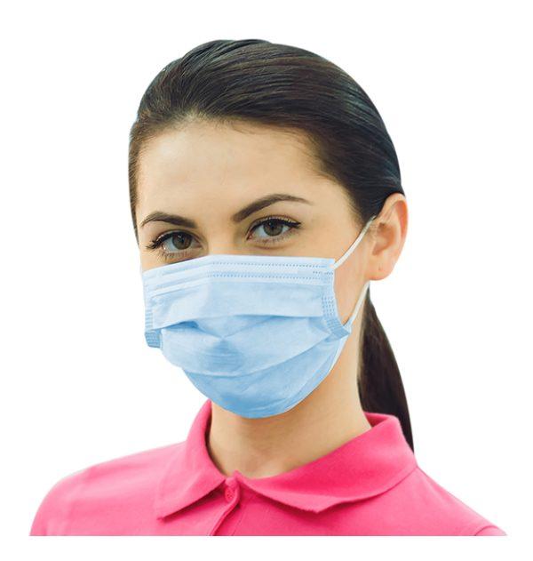 Mundschutzmasken, Desinfektionsmittel
